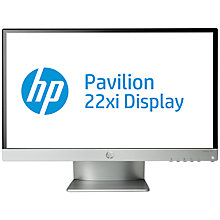 "Buy HP 22xi LED Backlit Monitor, 21.5"" Online at johnlewis.com"