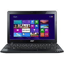 Buy Acer Aspire AO725 Netbook, AMD C 70, 1GHz, 4GB RAM, 500GB, 3.5 Hours Battery Life, 11.6'', Black Online at johnlewis.com