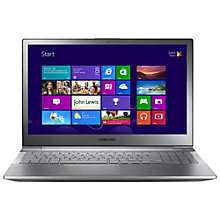 "Buy Samsung NP770Z5E-S02UK Laptop, Intel Core i5, 2.6GHz, 8GB RAM, 1TB, 15.6"", Silver Online at johnlewis.com"