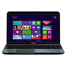 "Buy Toshiba Satellite L855-17Q Laptop, Intel Core i5, 2.6GHz, 8GB RAM, 1TB, 15.6"", Silver Online at johnlewis.com"