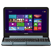 "Buy Toshiba Satellite L955-10J Laptop, Intel Core i3, 1.9GHz, 8GB RAM, 750GB, 15.6"", Silver Online at johnlewis.com"