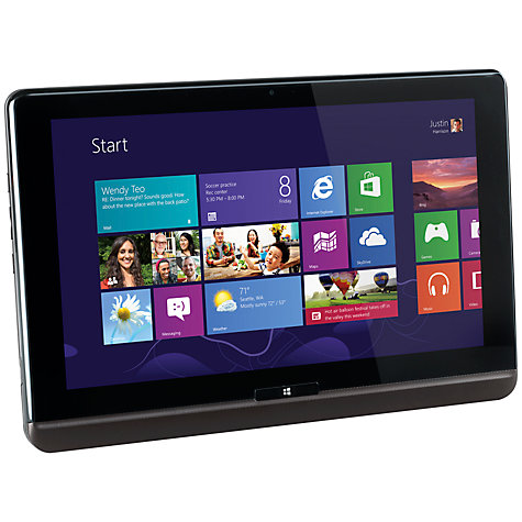 Buy Toshiba Satellite U920T-108 Convertible Ultrabook, Intel Core i3, 4GB RAM, 128GB SSD, 12.5
