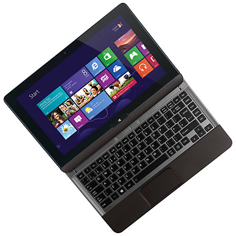 "Buy Toshiba Satellite U920T-108 Convertible Ultrabook, Intel Core i3, 4GB RAM, 128GB SSD, 12.5"" Touch Screen Online at johnlewis.com"