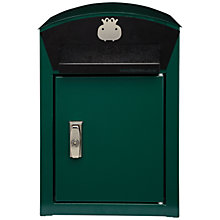 Buy Baby Hippo Post Box, Green Online at johnlewis.com