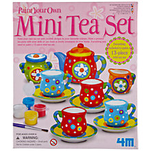 Buy Great Gizmos Paint Your Own Mini Tea Set Online at johnlewis.com