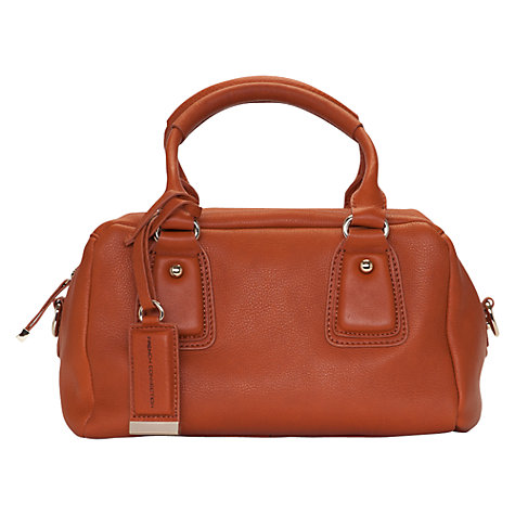 Buy French Connection Soft Touch Grab Handbag, Tan Online at johnlewis.com