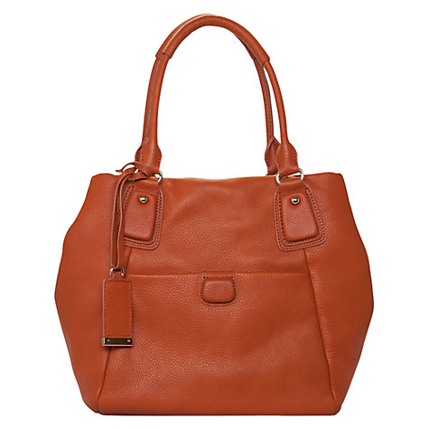 Buy French Connection Soft Touch Tote, Tan Online at johnlewis.com
