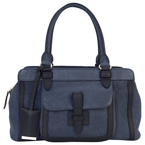Buy French Connection Tippy Weave Grab Handbag, Twinkle Online at johnlewis.com
