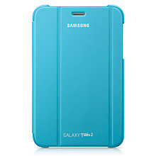 Buy Samsung Book Cover for Galaxy Tab 2 7.0, Blue Online at johnlewis.com