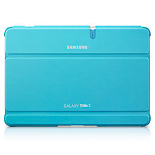 Buy Samsung Book Cover for Galaxy Tab 2 10.1, Blue Online at johnlewis.com