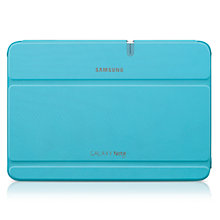 Buy Samsung Flip Cover for Galaxy Note 10.1, Blue Online at johnlewis.com