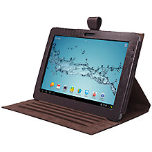"Buy John Lewis Leather Book Case for Samsung Galaxy Tab 2 10.1"", Brown Online at johnlewis.com"