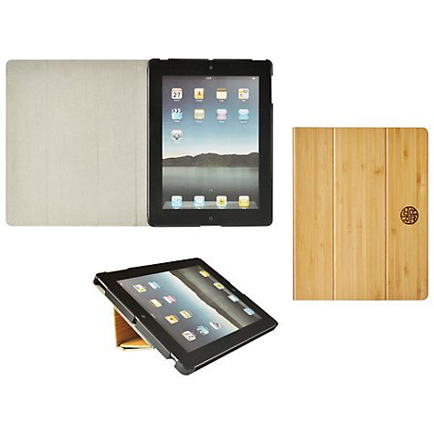 Buy Reveal Bamboo Folio and Stand for 2nd, 3rd & 4th Generation iPad Online at johnlewis.com