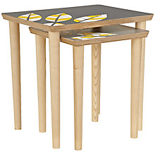 Buy John Lewis Lucy Turner Leaf Limited Edition Nest Tables, Set of 2 Online at johnlewis.com