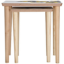 Buy John Lewis Lucy Turner Leaf Limited Edition Nest of Tables, Set of 2 Online at johnlewis.com