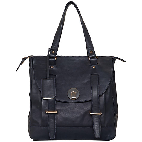 Buy French Connection Cannonbury Tote Bag, Black Online at johnlewis.com