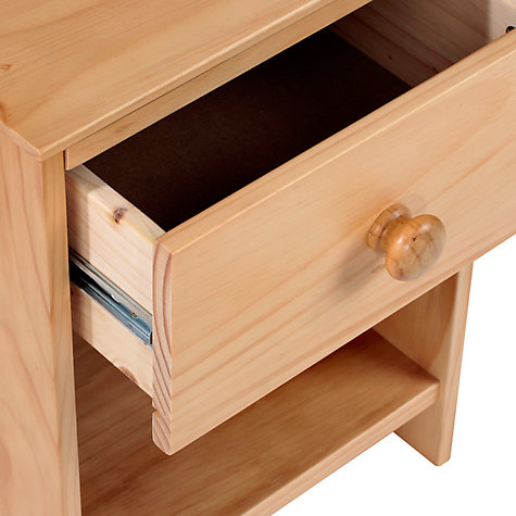 Buy little home at John Lewis Devon Bedside Table Online at johnlewis.com