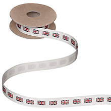 Buy John Lewis Union Jack Ribbon, 5m Online at johnlewis.com