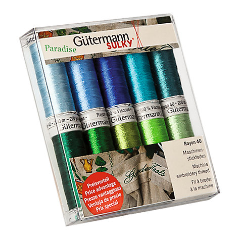Buy Gutermann Viscose Threads, Pack of 10 Online at johnlewis.com