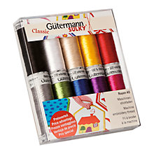 Buy Gutermann Viscose Threads, Pack of 10, Classic Online at johnlewis.com