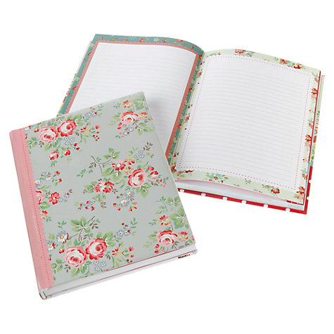 Buy Cath Kidston Roses Notebook Online at johnlewis.com