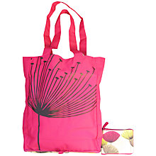 Buy Sanderson Dandelion Clocks Foldaway Shopping Bag, Pink Online at johnlewis.com