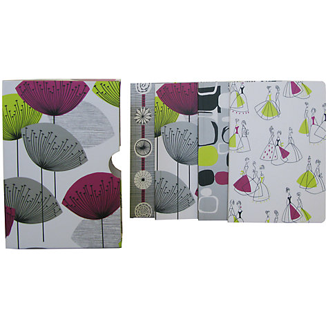 Buy Sanderson Dandelion Clocks Notebooks, Pack of 4 Online at johnlewis.com