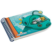 Buy Wild & Wolf Octonauts A5 Die Cut Notebook, Multi Online at johnlewis.com