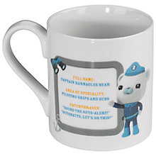 Buy Wild & Wolf Octonauts Barnacles Mug Online at johnlewis.com