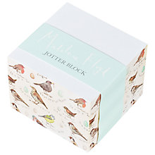 Buy Madeleine Floyd Birdsong Jotter Block Online at johnlewis.com