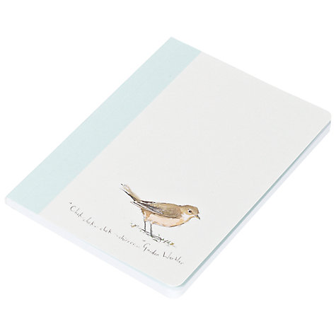 Buy Madeleine Floyd Birdsong Mini Notebooks, Pack of 3 Online at johnlewis.com