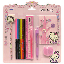 Buy Hello Kitty Woodland Animals Super Stationery Set Online at johnlewis.com