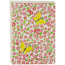 Buy Caspari Ltd Butterfly Garden Notecards, Pack of 8 Online at johnlewis.com