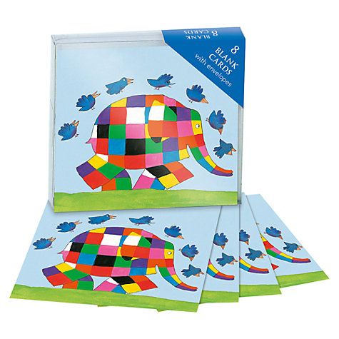 Buy Museums & Galleries Elmer Notecards, Pack of 8 Online at johnlewis.com