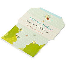 Buy Chronicle Books Treetop Tiding Fold and Mail Notecards, Pack of 40 Online at johnlewis.com