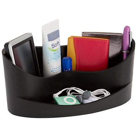 Buy J-ME Desk Organiser, Black Online at johnlewis.com