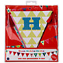 Talking Tables Birthday Bash Birthday Bunting, L4m