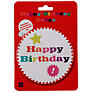 Talking Tables Birthday Bash Big Badge, Multi