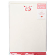 Buy Art File Butterfly Writing Set Online at johnlewis.com