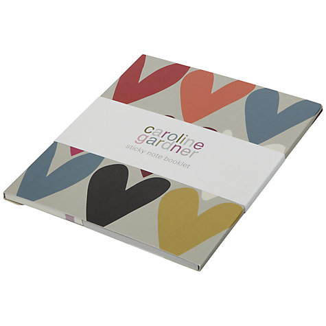 Buy Caroline Gardner Hearts Sticky Notes Online at johnlewis.com