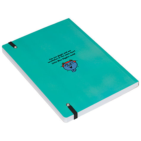 Buy Mr Men Little Miss Sunshine A5 Notebook, Green Online at johnlewis.com