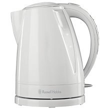 Buy Russell Hobbs 15075 Breakfast Collection Kettle, White Online at johnlewis.com