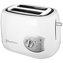 Buy Russell Hobbs 18541 Breakfast Collection 2-Slice Toaster, White Online at johnlewis.com