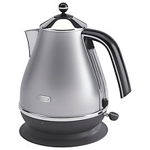 Buy De'Longhi KBO3001 Icona Kettle, Silver Online at johnlewis.com