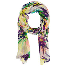 Buy Betty Barclay Tropical Print Scarf, Multi Online at johnlewis.com