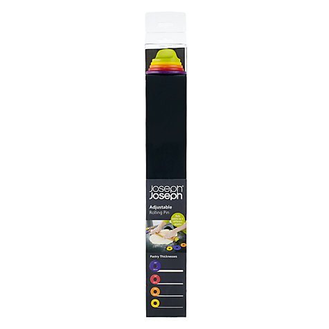 Buy Joseph Joseph Adjustable Rolling Pin, Multi Online at johnlewis.com