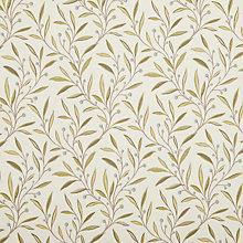Buy John Lewis Guelder Berry Fabric, Duck Egg Online at johnlewis.com