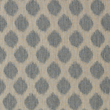 Buy John Lewis Ikat Spot Fabric, Blue Online at johnlewis.com