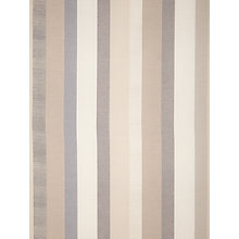 Buy John Lewis Refined Puritan Stripe Fabric, Grey Online at johnlewis.com