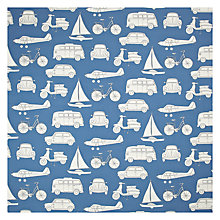 Buy John Lewis Automobiles Fabric, Green Online at johnlewis.com